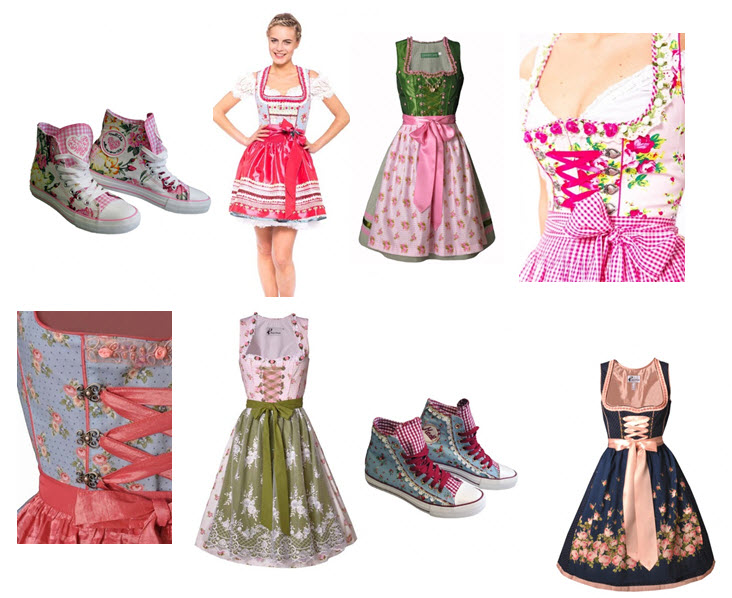 Dirndl flower power