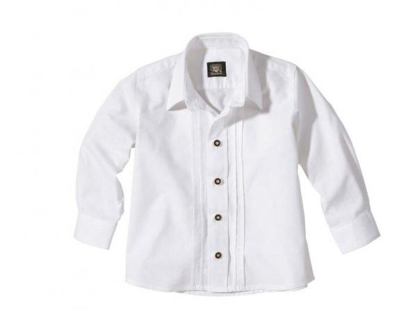 Kinder Trachtenhemd Blaichach weiß OS-Trachten