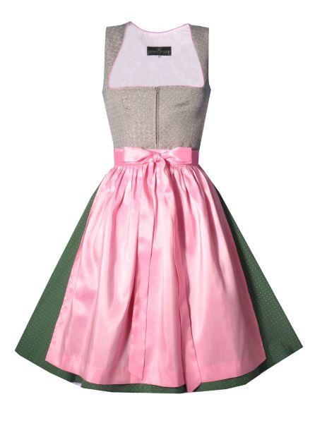 Dirndl midi 60 cm Thalmann grün rosa Berwin & Wolff