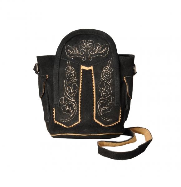 Trachtentasche Dirndltasche Fischach schwarz