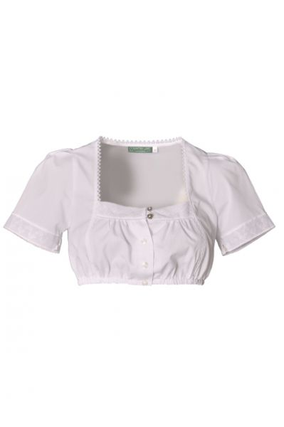 INES DIRNDLBLUSE TRACHTEN BLUSE WEISS V. COUNTRY LINE