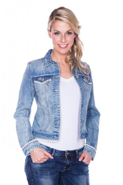 Trachtenjacke Denim Dream Jeans blau Krüger