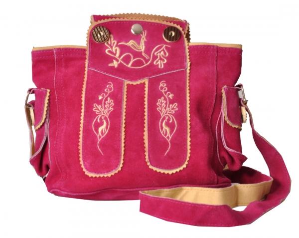 Trachtentasche Dirndltasche Flintsbach pink