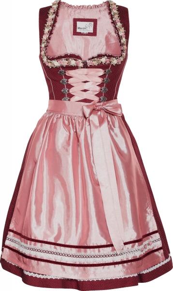 Dirndl mini 55 cm Fomella beere rosa Marjo