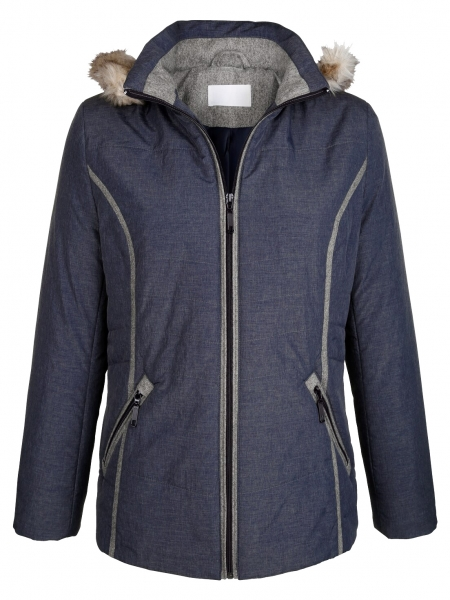 online store 28571 f0cd0 Damen Jacke Weidenberg blau Dress In