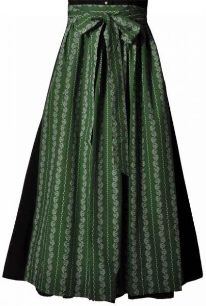 Dirndlschürze lang 89 cm grün Hammerschmid