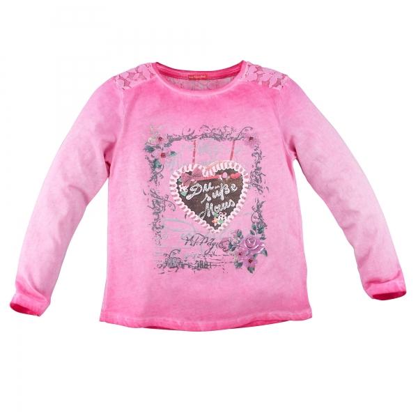 "Kinder T-Shirt ""Du süße Maus"" rosa Langarm Bondi"