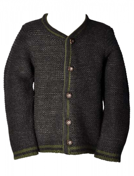 Kinder Strickjacke Jannick anthrazit