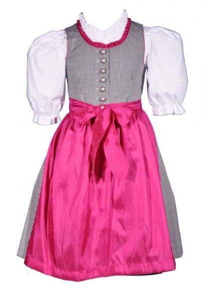 Kinderdirndl Hanna pink Set 3-tlg. Kaiser Franz Josef