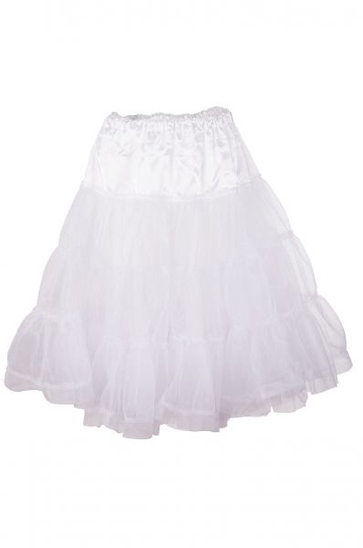 Petticoat 60 cm Hohenkammer weiß