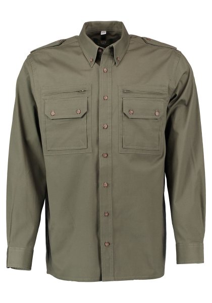 Trachtenhemd Wiesendorf trachtengrün grün OS Trachten