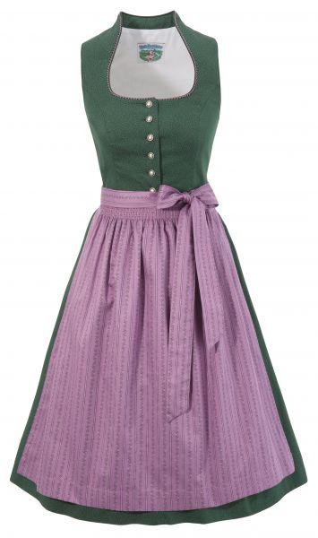 Dirndl midi 66 cm Nicki-Daisy grün rosa Turi Landhaus