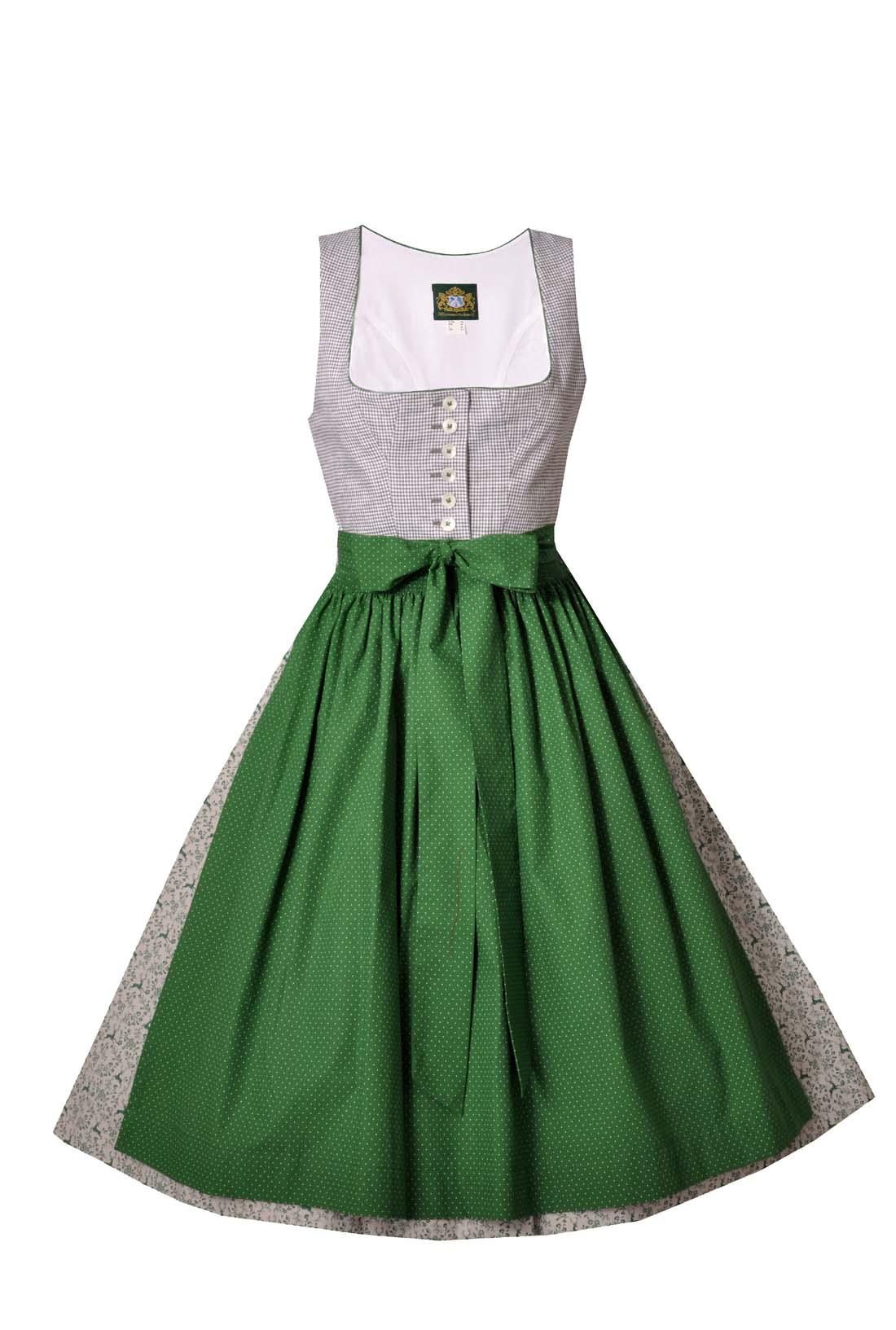 3f862fba52d394 Dirndl midi 70 cm Schliersee grün Hammerschmid | Trachten in Übergrößen |  Damen | Trachtenoutlet24