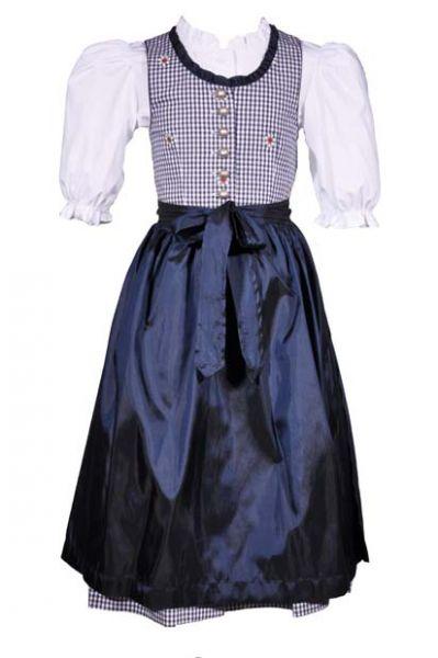 Kinderdirndl Lucy blau 3-tlg. Set Kaiser Franz Josef