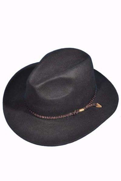 Trachtenhut schwarz Western