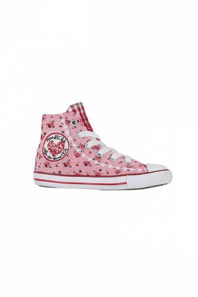 Kinder Sneaker Little Floret red rot/weiß Krüger Kids