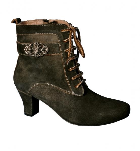 best sneakers abc5f 85d17 Trachten Stiefelette Stiefel Bärbel lava braun Marjo