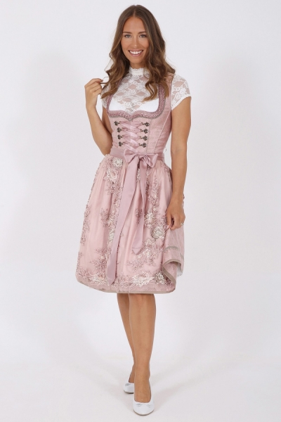 Dirndl midi 60 cm Liah rose rosa Krüger Collection