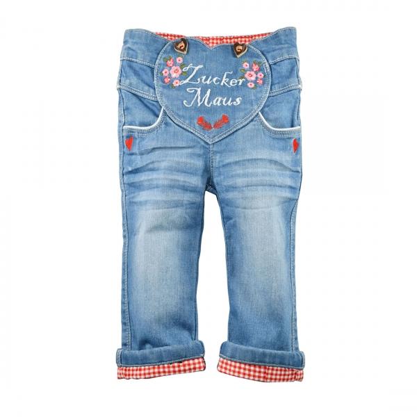 Kinder Trachten Jeans Zuckermaus blau jeans denim Bondi