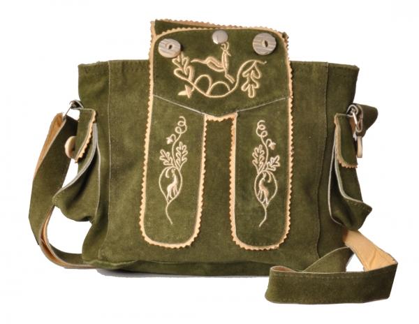 Trachtentasche Dirndltasche Flintsbach grün khaki