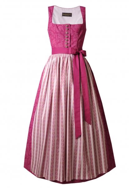 Dirndl lang 90 cm Toplitzsee cyclam pink Kaiser Franz Josef