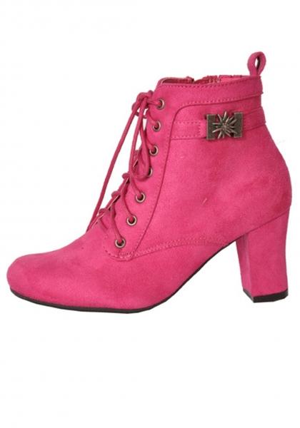 Stiefelette Fine pink Hirschkogel