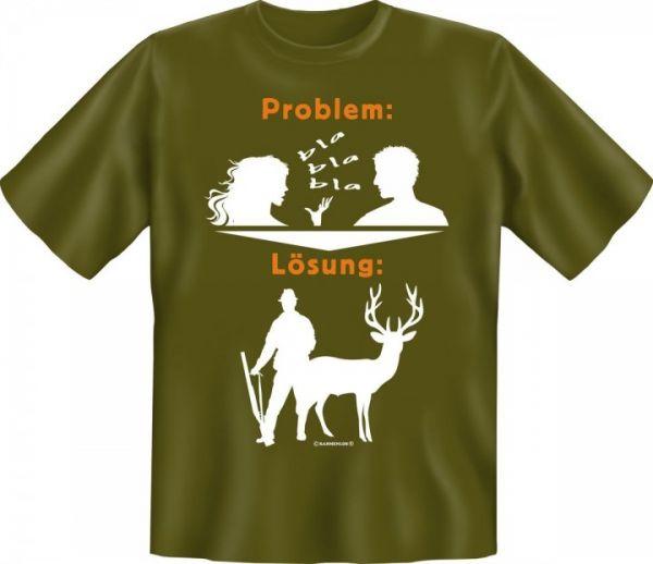 Trachtenshirt Problem - Lösung grün