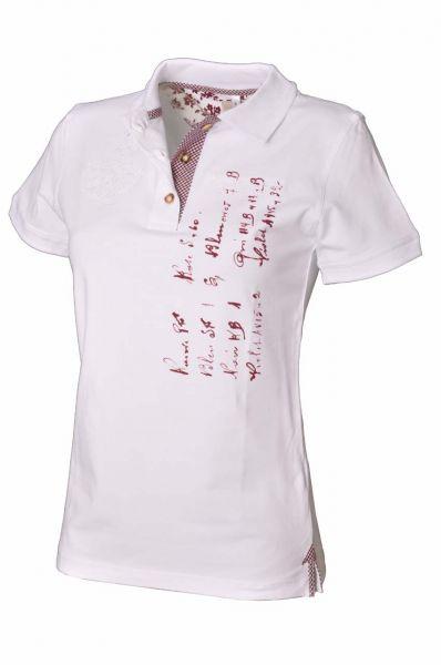 Poloshirt Benita weiß OS Trachten