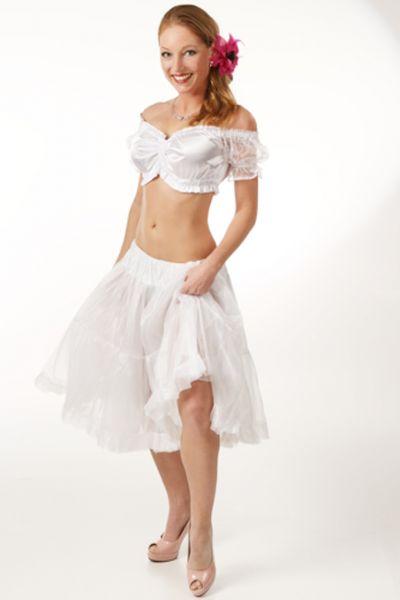 Petticoat 60 cm Daisy weiß Fuchs