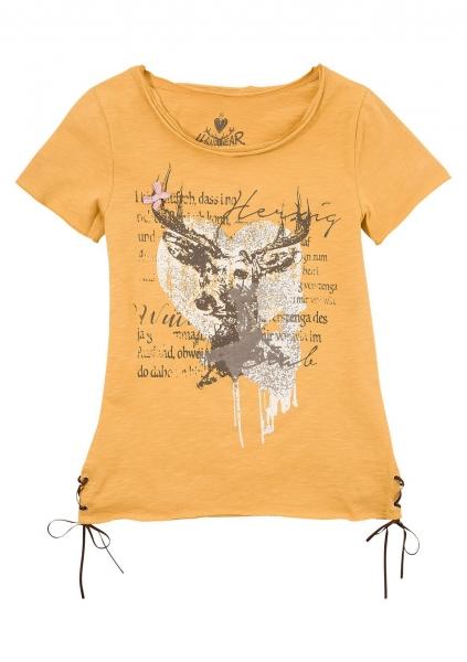 B-Ware / 2. Wahl - Trachtenshirt Letizia gelb Hangowear