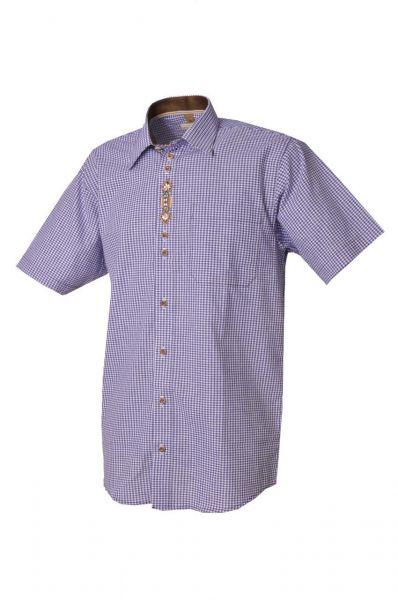 Trachtenhemd Theodor kornblau OS Trachten