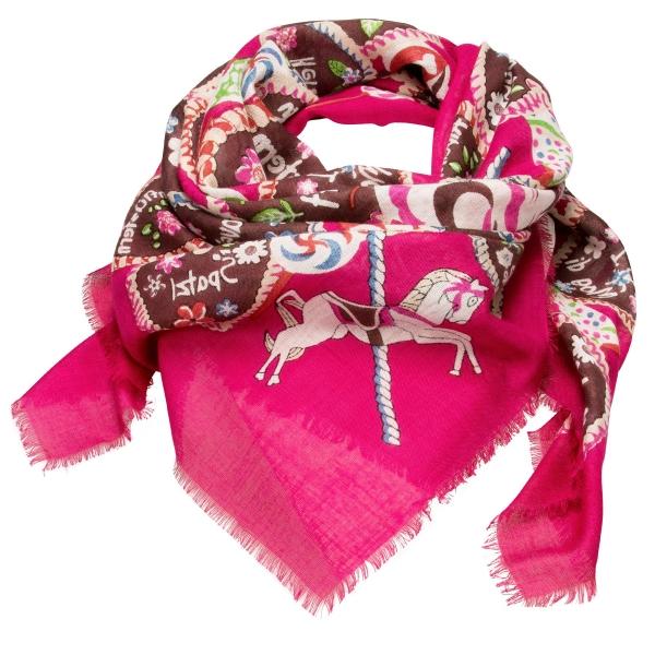 Trachtentuch Sweet Temptation pink