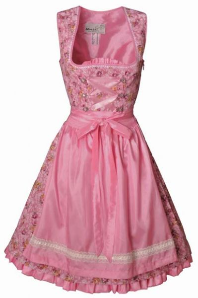 Dirndl mini Agnes rosa/pink Marjo