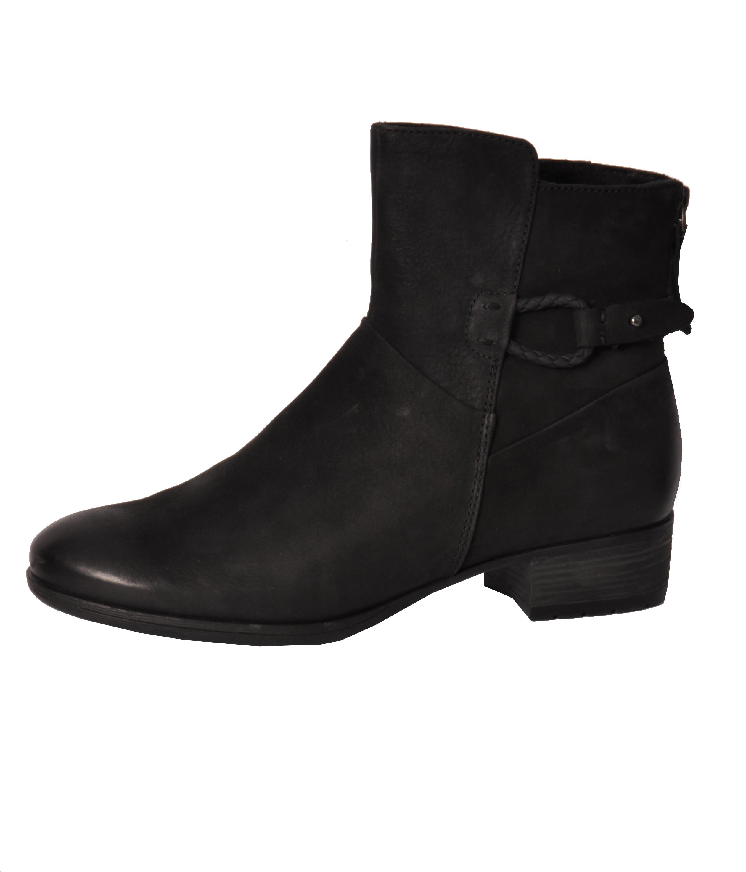 Stiefeletten Chelsea Boots Reichersbeuern schwarz Leder Caprice