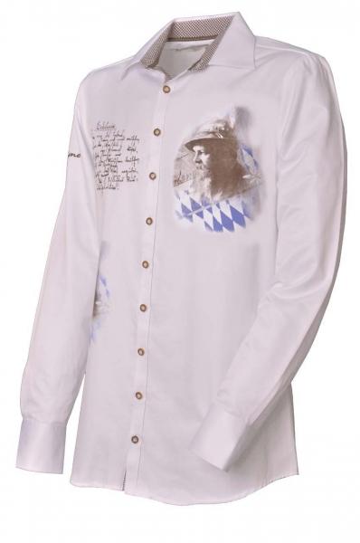 Trachtenhemd Igling weiß Gipfelstürmer OS Trachten