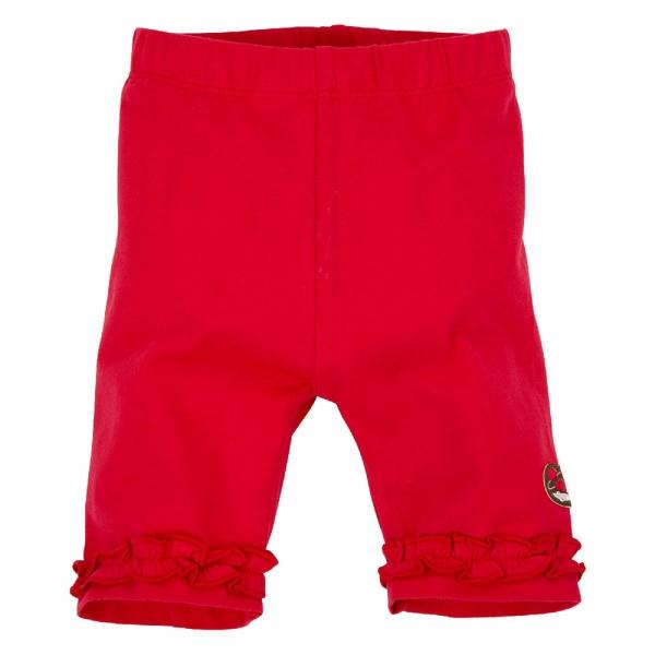 Kinder Leggings Alpenglück rot Trachtenlook Bondi
