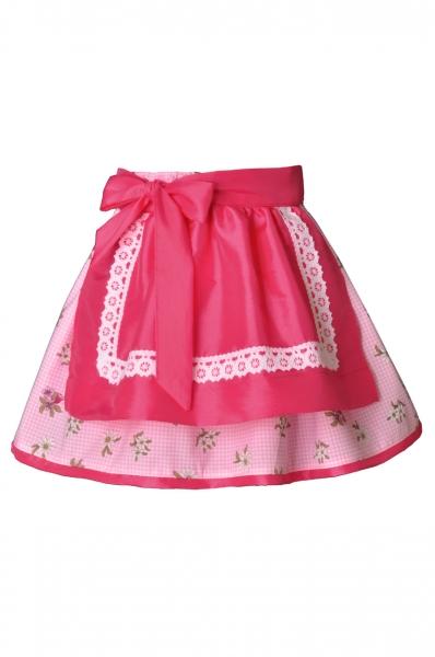 Kinder Trachtenrock Hemhofen rosa/pink Isar Trachten
