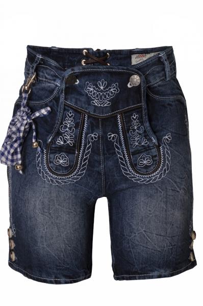 Kinder Jeans kurz Cornelius blau Lekra