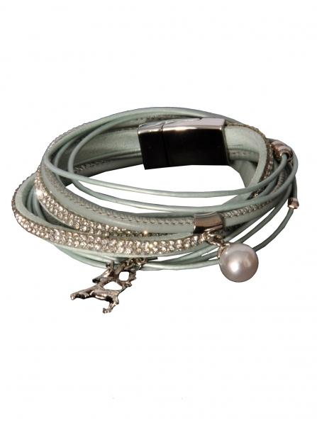 Trachten Armband Nittenau türkis
