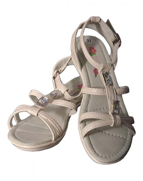Sandaletten Manuela weiß