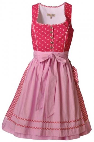 Dirndl mini 55 cm Selma pink Lekra