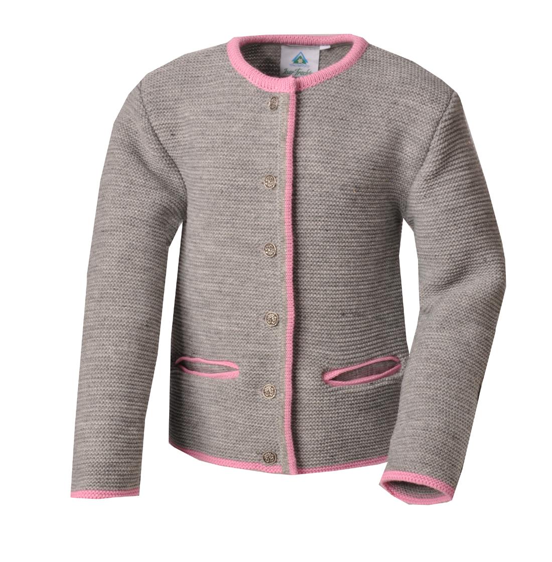 Isar-Trachten Kapuzenjacke Kapuzenpullover Sweater Kinder