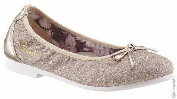 designer fashion 2b5dd c300c Trachten Ballerina Gold glitzer Dockers