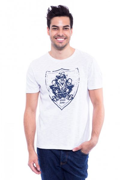 Trachten T-Shirt Nebelhorn weiss Krüger